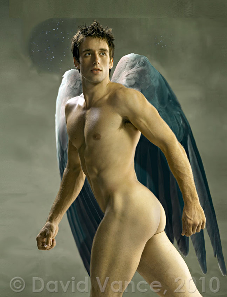 hottest nude hunk angel