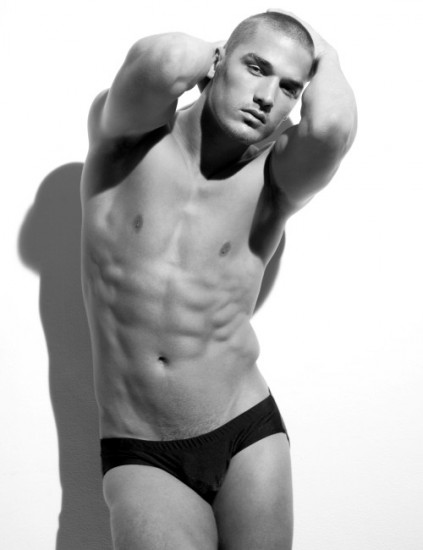 Kerry Degman in B&W | Anatomy of Man