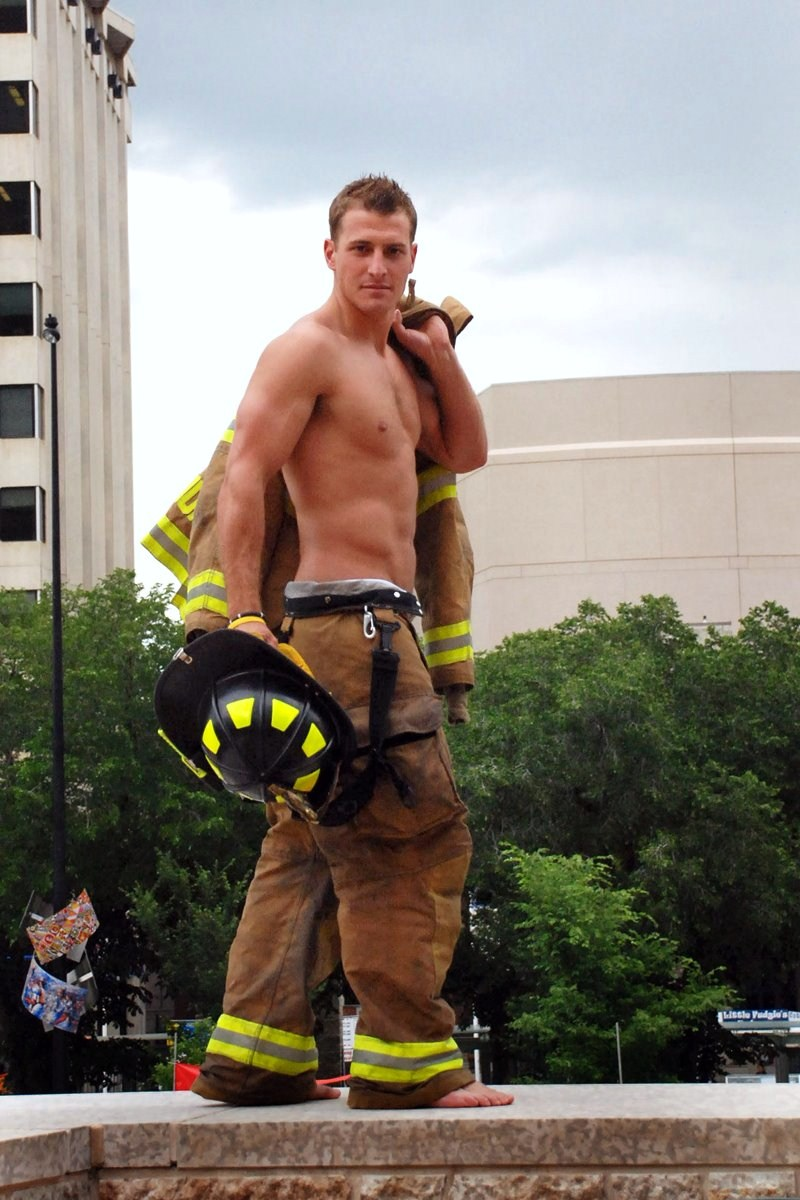 Sexy men firefighters naked