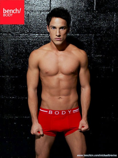 Michael Trevino for Bench Underwear | Anatomy of Man