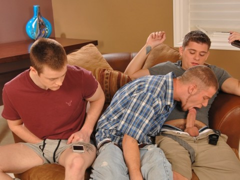 Twinks 3way feat. Steven Shields, AJ Monroe & Rick McCoy | Anatomy of Man