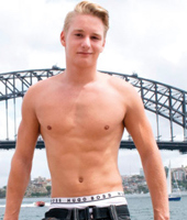 All Australian Boys - Young Surfer Finnie from Sydney