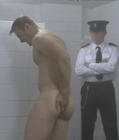 Strip Search Hell - Pretty Blue-eyed Lad in Prison